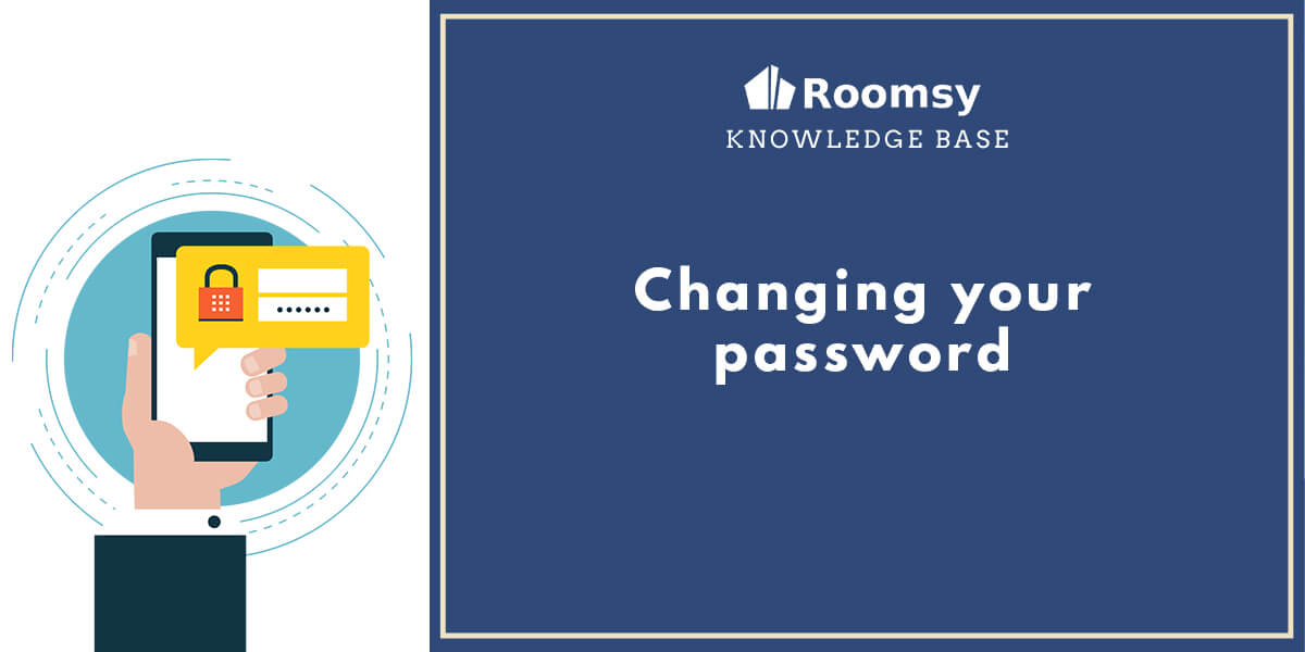 changing password_roomsy