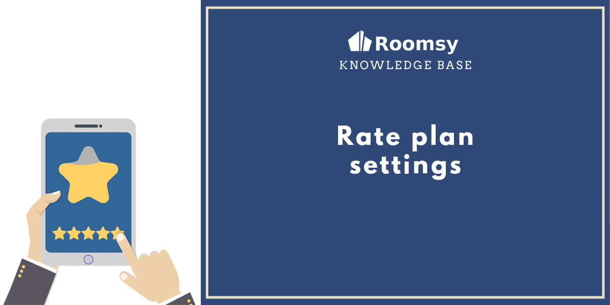 rate plan setting_roomsy
